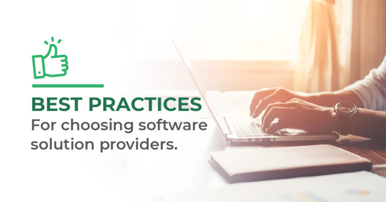 best practices for software solution providers