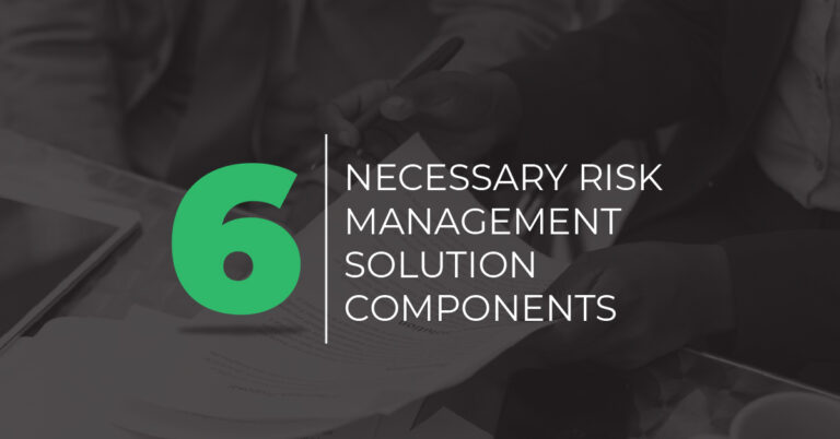 necessary risk management solution components